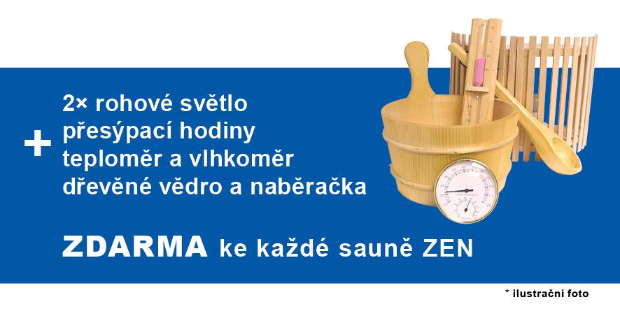 france sauna zen 3/4 darek zdarma